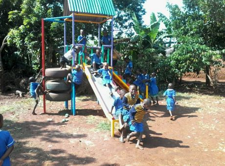 Thanks to East African Play Charity Covenant now has a great play area too :)